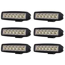 6 pack LED <b>Work</b> light <b>6LED</b> Strands Lighting Division - SC Styling