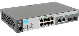 <b>Коммутатор HP 2530-8G</b> (<b>J9777A</b>) 8-портов 10/100/1000T/SFP ...