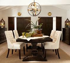 Dining Room Table Pottery Barn Hayes Tufted Chair Pottery Barn Au
