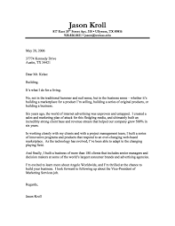 marketing cover letterfree cover letter templates