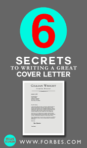 ideas about great cover letters cover letter 6 secrets to writing a great cover letter