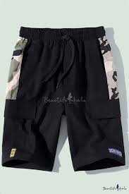 Men's Fashion Popular <b>Camouflage</b> Printed <b>Letter Patchwork</b> ...