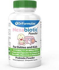 DrFormulas Nexabiotic Probiotic Powder for Babies, <b>Infants & Kids</b>