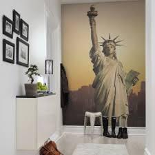 liberty bedroom wall mural: photo mural of statue of liberty interior