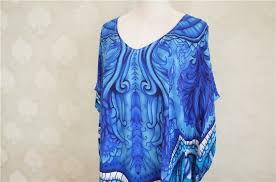 <b>Ameision</b> Casual Oversize Bohemian Printed Kaftan Beach <b>Dress</b> ...