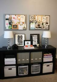 cory and kristines marriage of classic and graphic house tour charming office craft home wall storage