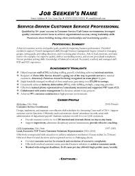Resume Examples For Customer Service Resume Templates Customer Service Customer Service Resume Skills Objectives    Templates eluded co