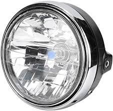 Terisass LED Headlight Modified Retro Round ... - Amazon.com