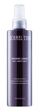 Michael Todd <b>Organic</b> Lemon Aha + DMAE Toner, 8.4 Fl Oz