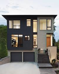 Gallery Of Westboro Home  Kariouk Associates  Exterior Colors - Black window frames for new modern exterior