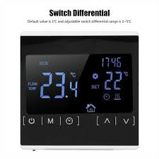 <b>MH1822 ELECTRIC</b> HEATING Thermostat Temperature Controller ...