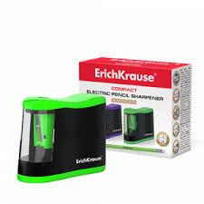 <b>Точилка электрическая ErichKrause Compact</b> с контейнером ...
