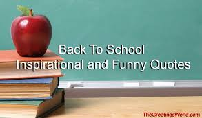 Back To School Quotes - Top # 50+ Inspirational and Funny via Relatably.com