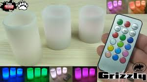 <b>Светодиодные свечи</b> LED RGB с пультом из Китая Aliexpress ...