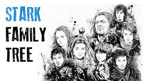 <b>Stark Family Tree</b> - Game of Thrones - YouTube