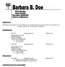 nursing resume templates   free resume templates for nurses   how    free resume templates for nurses