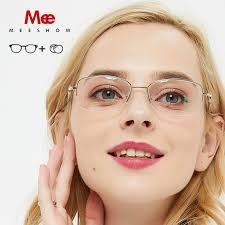 MEESHOW prescription snglasses Pure Titanium optical Glasses ...