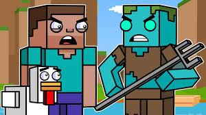 Ocean Adventures & Drowned | Block Squad (<b>Minecraft Animation</b> ...