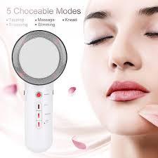 3-in-1 <b>Ultrasound Massager Professional</b> Facial <b>Massage</b> Tool ...