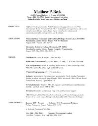 sample resume templates for openoffice resume resume template openoffice example for web developer employment