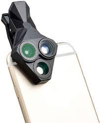 <b>Объектив</b> Triangle <b>Lens</b> 3 in 1 для смартфонов <b>Fisheye</b> + Macro + ...