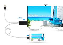 <b>Аксессуар Gurdini Lightning</b> to HDTV Cable 1080HD 2.0m White ...