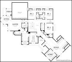 Multigenerational House Plans   VAlineHouse Plans   Angled Garage