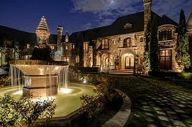 Mansions  amp  More    Sq Ft French Style Chateau in TexasThis French Chateau estate features   square feet of living space and over acres of land overlooking Lake Grapevine  Built in   the home is of
