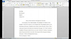 to write an essay in mla format how to write an essay in mla format