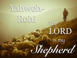 Image result for the lord is my shepherd pics