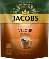 <b>Кофе растворимый JACOBS Velour</b> натур. порошкообразный м/у ...