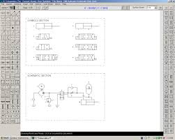 Draw Electric Circuit Hydraulic Pneumatic And Electrical Schematic Software
