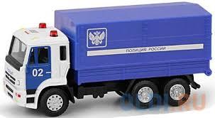 Р49207 <b>Play Smart</b> 1:54 инерционный металлический грузовик ...