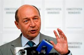 Romania's unpopular President Traian Basescu may survive an impeachment referendum today thanks to a requirement that turnout must be more than half for the ... - romania_s_suspended_president_traian_basescu_addre_50146a751d