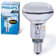 <b>Лампа накаливания PHILIPS</b> Spot R50 E14 30D, <b>40 Вт</b> ...