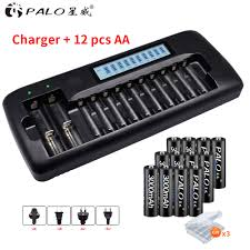 12PCS 18650 3 7V Battery Lithium 3400 mah Rechargeable For ...