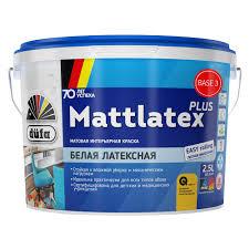 <b>Краска</b> моющаяся <b>dufa Mattlatex</b> Plus база 3 латексная 2,5 л ...