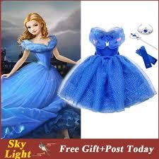 <b>Princess Cinderella Girls Dress</b> Kids Butterflies Party Dress For ...