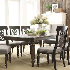 extension table f: furniture brown wooden expandable rectangle dining table with room t m l f black dining room sets