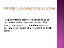 "thesis statement argument vs counterargument linguistic devices  ""argumentative essays are designed to be persuasive rather than descriptive the essays purpose is"