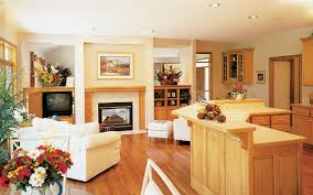 Living Large In A Small Home   House Plans and Moresmall home   open floor plan