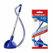 <b>Ручка</b> шариковая <b>ErichKrause</b>® R-301 <b>Desk Pen</b> 1.0, цвет чернил ...