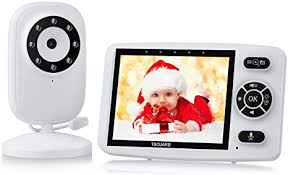 TOGUARD <b>Video Baby</b> Monitor with Digital Cam with <b>3.5 Inch</b> LCD ...