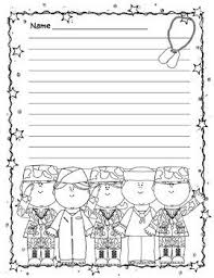 Patriotic Themed Writing Paper   th of July Memorial Day Veteran     s Day Constitution