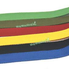 <b>25mm Cotton</b> Webbing Ribbon <b>Woven</b> Roll Buckles Strap Clips ...