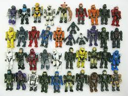 <b>Halo 1</b> 2 3 4 5 Xbox <b>One</b> Series 15 piece Mega Bloks Action Figure ...