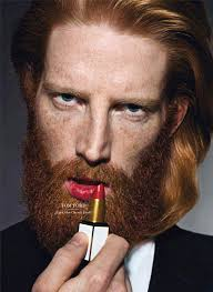 Resultado de imagem para charge homem barbudo