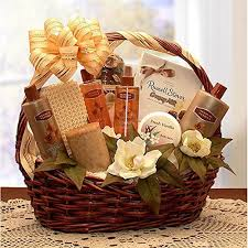 Luxurious and <b>Relaxing Vanilla Spa</b> Gift Basket - Buy Online in ...