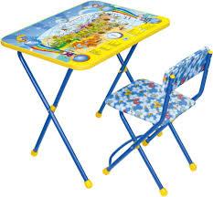 <b>Набор мебели Ника Познаю</b> Мир (стол с мягким стульчиком ...