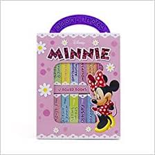 <b>Disney Minnie Mouse</b> - My First Library Board Book Block 12-Book ...